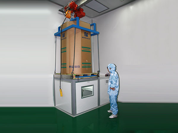 100-degree material purification system