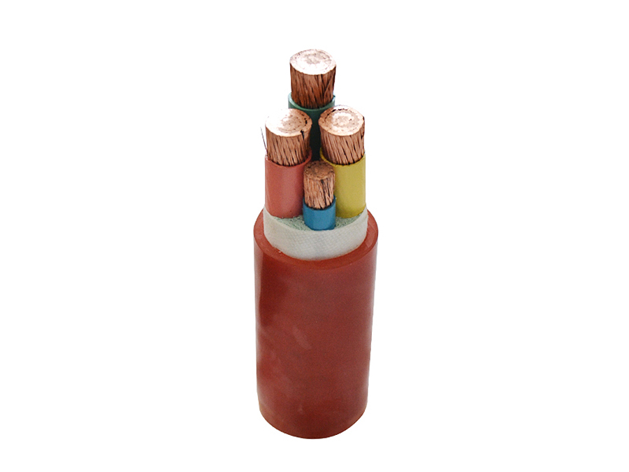 Silicone rubber insulation power cable