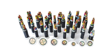 Rated voltage 0.6/1kv PVC insulated (flame retardant) Power cables
